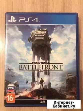 Диск Star Wars Battlefront Ps4 Железногорск