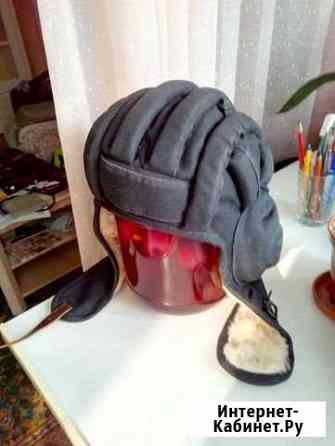 Шлем танковый (шлемофон) зимний на меху новый Омск