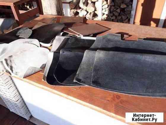 Комплект кроя хромовых офицерских сапог Ставрово