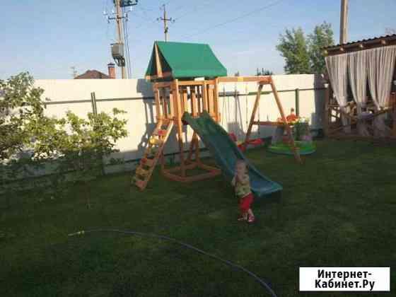Деревянная игровая площадка: дск 0009 Симферополь