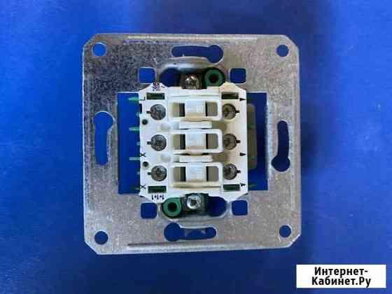 Механизм eljo Trend 18303363CR выключателя 3кл Костомукша
