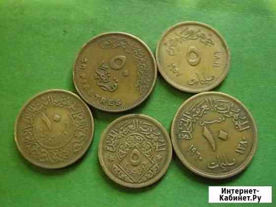 Монеты Африки 60-70 года Керчь