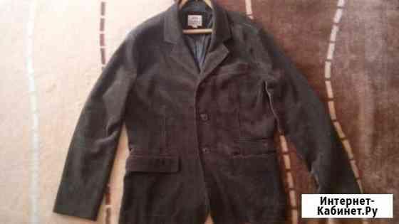 Микро вельветовый пиджак фирмы F5 цвет олива Ульяновск