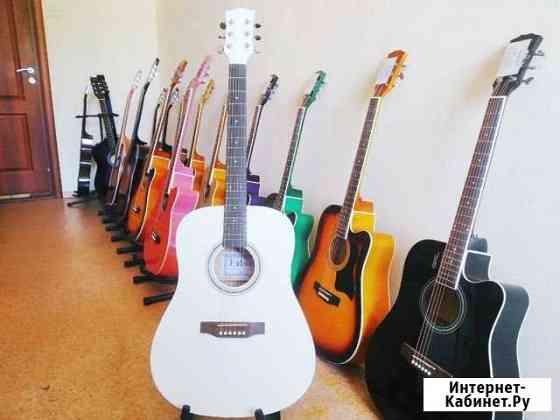 Новая гитара из красного дерева Барнаул