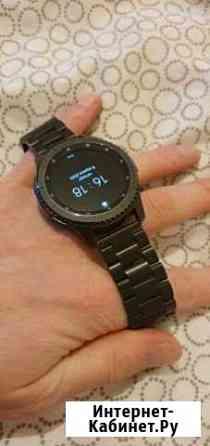 Samsung Gear s3 frontier + блочный ремешок Сыктывкар