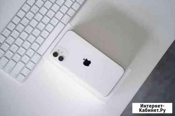 iPhone 11, white, 64gb, рст новый Челябинск