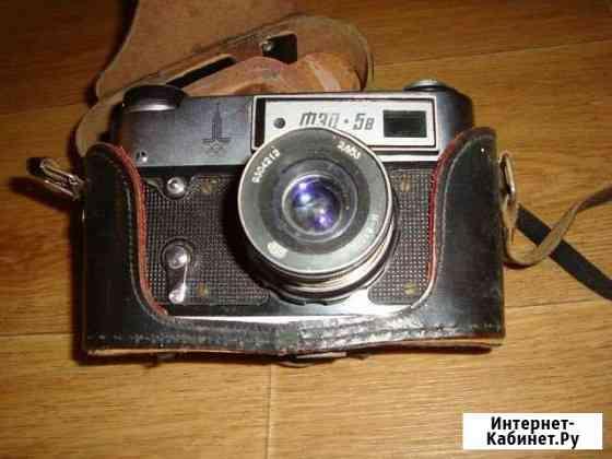 Фотоаппарат фэд 5B. олимпиада - 80. СССР Омск