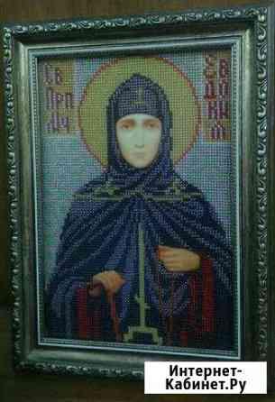 Икона Евдокия, чешский бисер Симферополь
