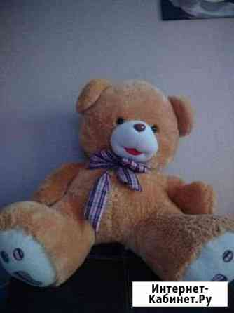 Медведь большой плюшевый Тюмень