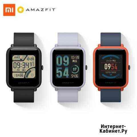 Умные фитнес-часы Xiaomi Amazfit Bip GPS+Glonass Ростов-на-Дону