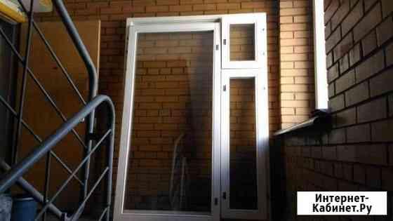 Окно из массива дерева 2060х1470 Новосибирск