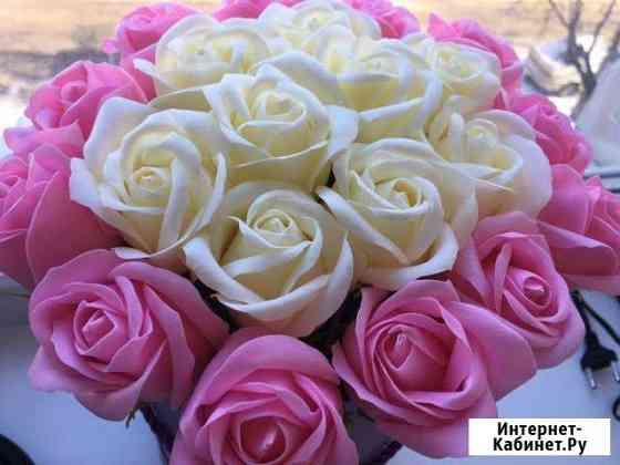 Букет роз из мыла Брянск