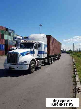 Водитель Е категории на контейнеровоз Санкт-Петербург