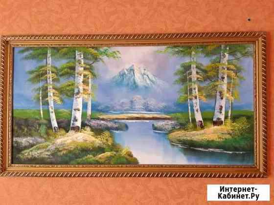 Картина маслом Пейзаж Омск