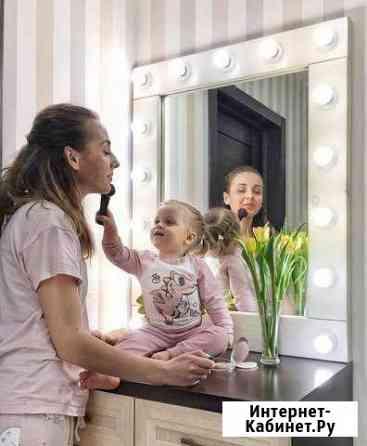 Гримерное зеркало 70 на 50(Париж ) Омск