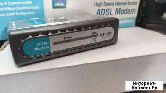 Adsl modem dsl 200 Калининград