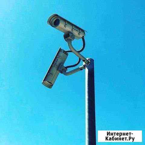 2мп Камера 3G/4G, Комплект для установки на столб Ульяновск