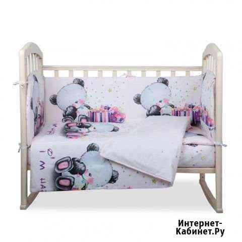 Комплект в кроватку Счастливчик 6 предметов Чебоксары