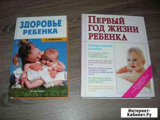 Две книжки по уходу за ребенком. Цена за две Красноярск