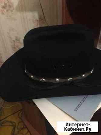 Шляпа ковбойская с ремешком Москва