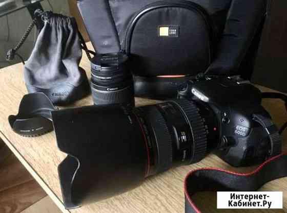 Canon EOS 600 D + Canon 24-70 2.8 L Волгоград