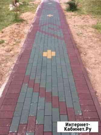 Тротуарная плитка Тула