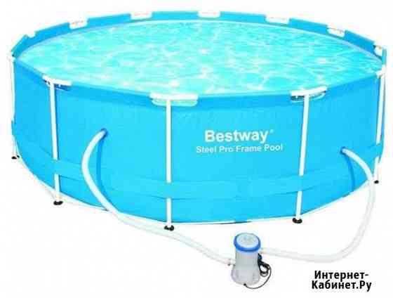 Каркасный бассейн bestway 366x100 см Тула