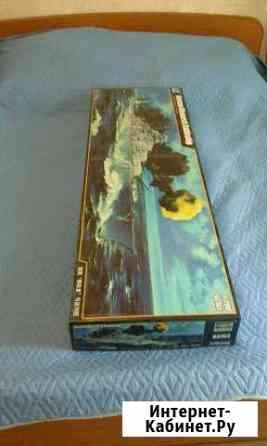 Сборная пластиковая модель корабля Бисмарк в масшт Осинники