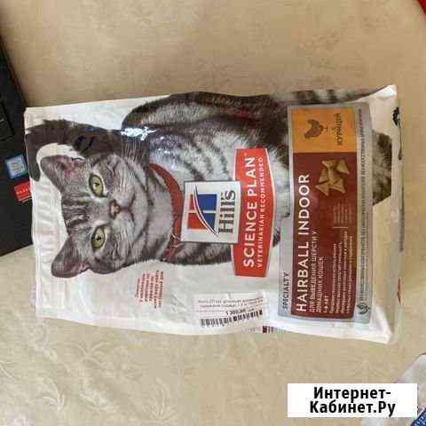 Корм для кошек Hills Hairball Indoor 1.5 кг Санкт-Петербург
