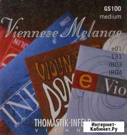 Струны для скрипки Thomastik GS100 Viennese Melang Челябинск