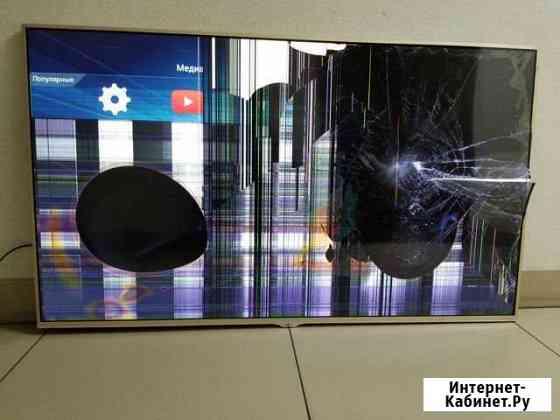 Телевизор Dexp F55B8000K на разбор Новосибирск