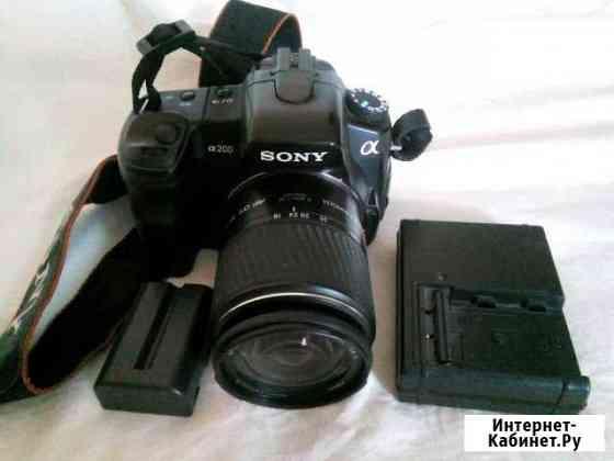 Sony A200 kit 18-70 Новосибирск