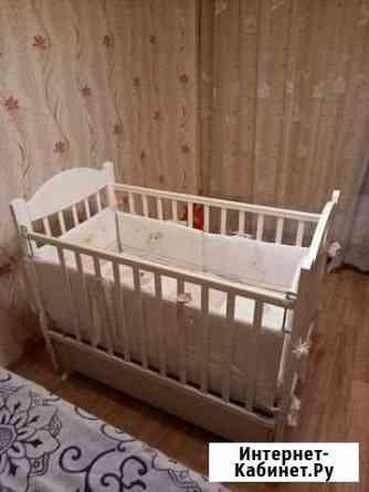 Кровать детская + комод с пеленальным столиком Абакан