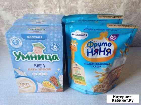 Новые молочные каши Псков