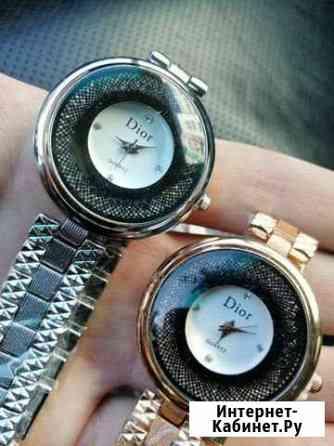 Модные женские часы Диор (Dior). Новые Астрахань