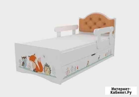 Кровать с мягким изголовьем Ростов-на-Дону