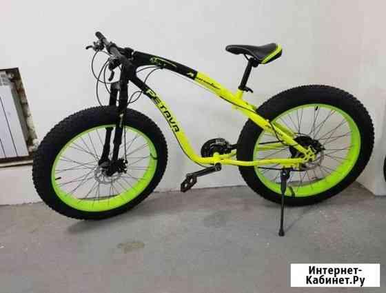 Велосипед вездеходный на широких колесах Рязань