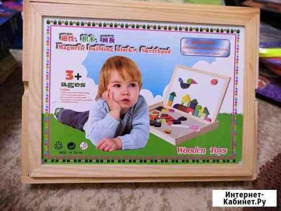 Wooden toys магнитная игра Калуга