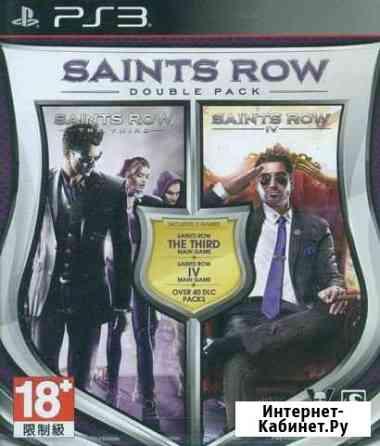 Saints Row - Double Pack (3 + 4) (PS3) Продажа,Обм Белгород