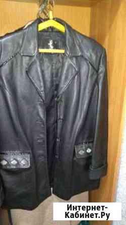 Куртка женская кожаная,натуральная кожа,48 размер Ртищево