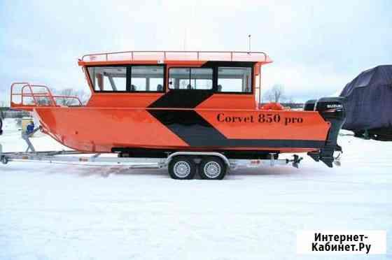 Пассажирский катер Корвет 850 серии PRO Санкт-Петербург