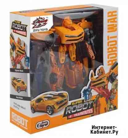 Робот-трансформер Super Robot War 2в1 желтый Курск