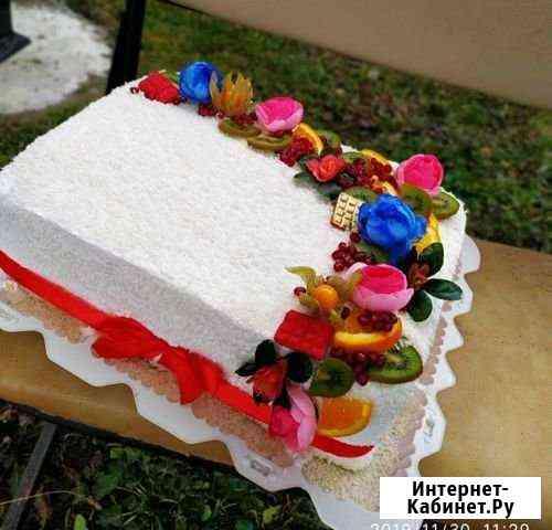Торты выпечка пироги Урус-Мартан