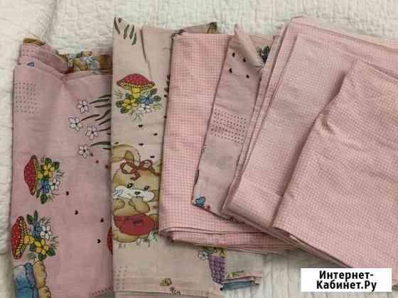 2 комплекта постельного белья для девочки в детску Краснодар