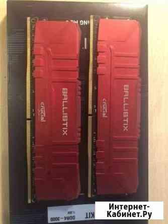 Ballistix 3000cl15 3700 cl15 16GB, e-die Казань