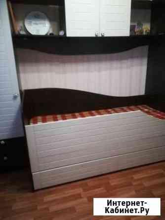 Детская (кровать, два пенала, стол, шкаф, комод) Челябинск