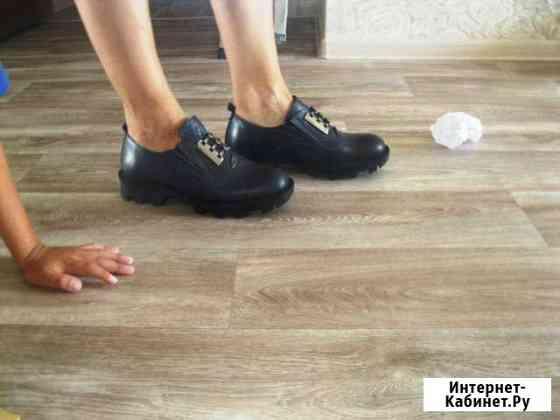 Новые стильные демисезонные закрытые туфли Барнаул