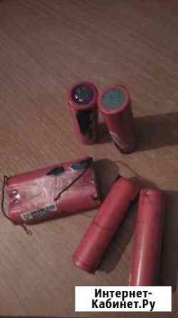Продам аккумуляторные батареи №18650 Красноярск