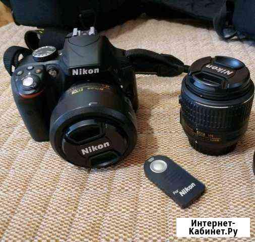 Фотоаппарат Nikon d3300+18-55mm vr II +35mm f1.8 Владикавказ