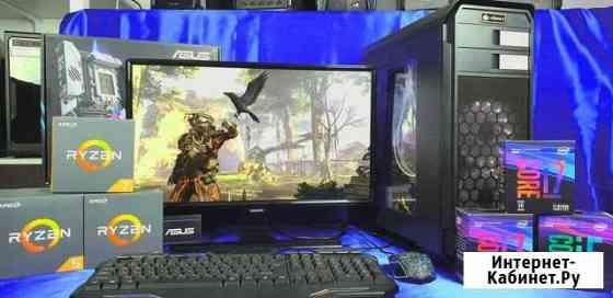 Игровой Пк сталь Intel Core i3  Radeon RX 480 Челябинск